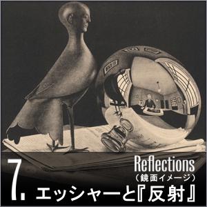 ミラクルエッシャー展 1934 球面鏡のある静物