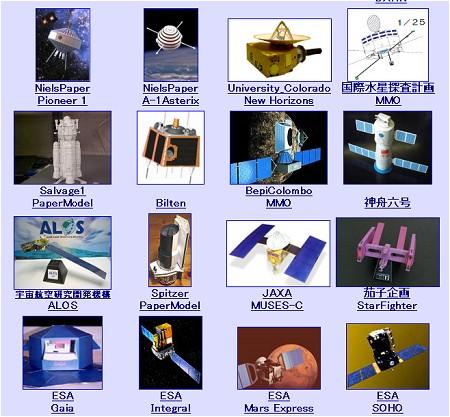 人工衛星の種類