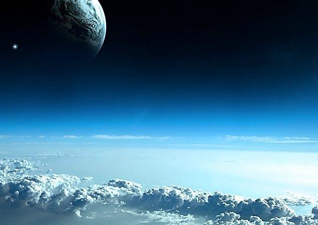 青空 地球 宇宙jpg