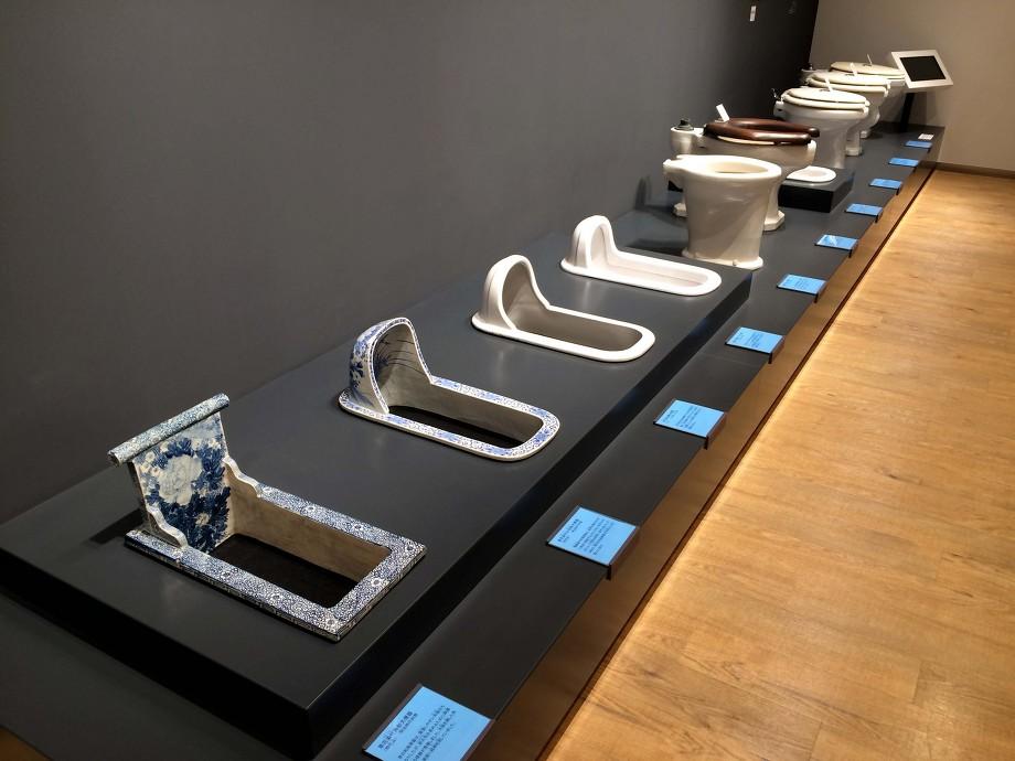 toto ミュージアム 日本の歴代トイレ