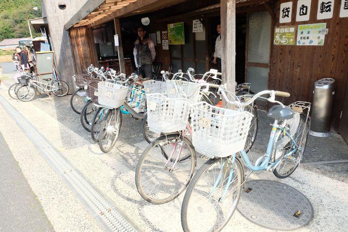 島根県 世界遺産 自転車レンタル