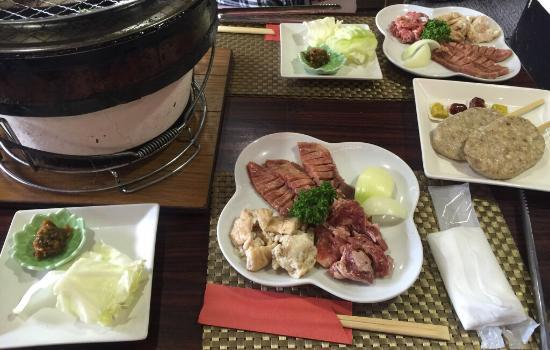 松島海岸駅前 赤間精肉店 牛タン