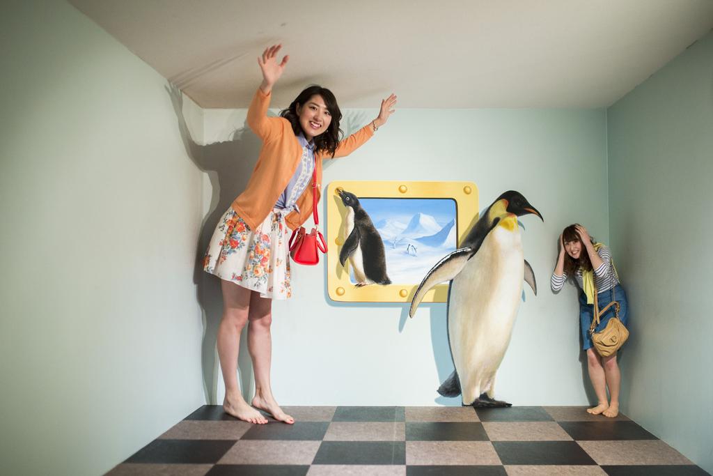 静岡県 熱海 熱海トリックアート迷宮館