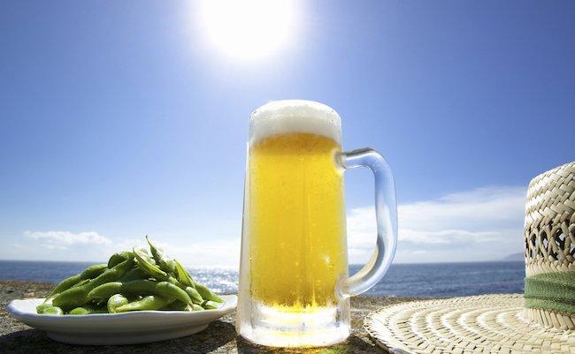 アルコールを吸収すると熱中症になりやすい
