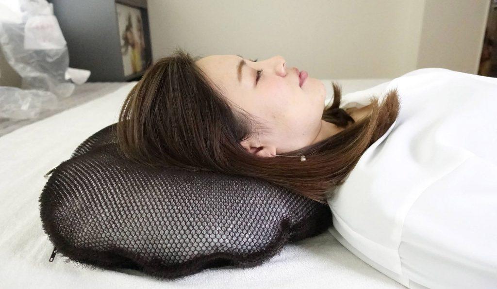 短時間で気持ち良い睡眠を得られる睡眠用たわし