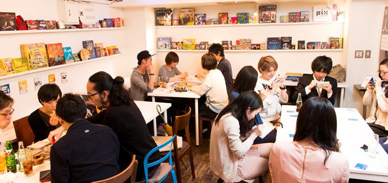 渋谷のボードゲームカフェ「JELLY JELLY CAFE渋谷店」