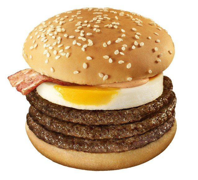 マクドナルド 期間限定 月光バーガー
