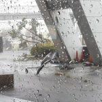台風21号傷跡