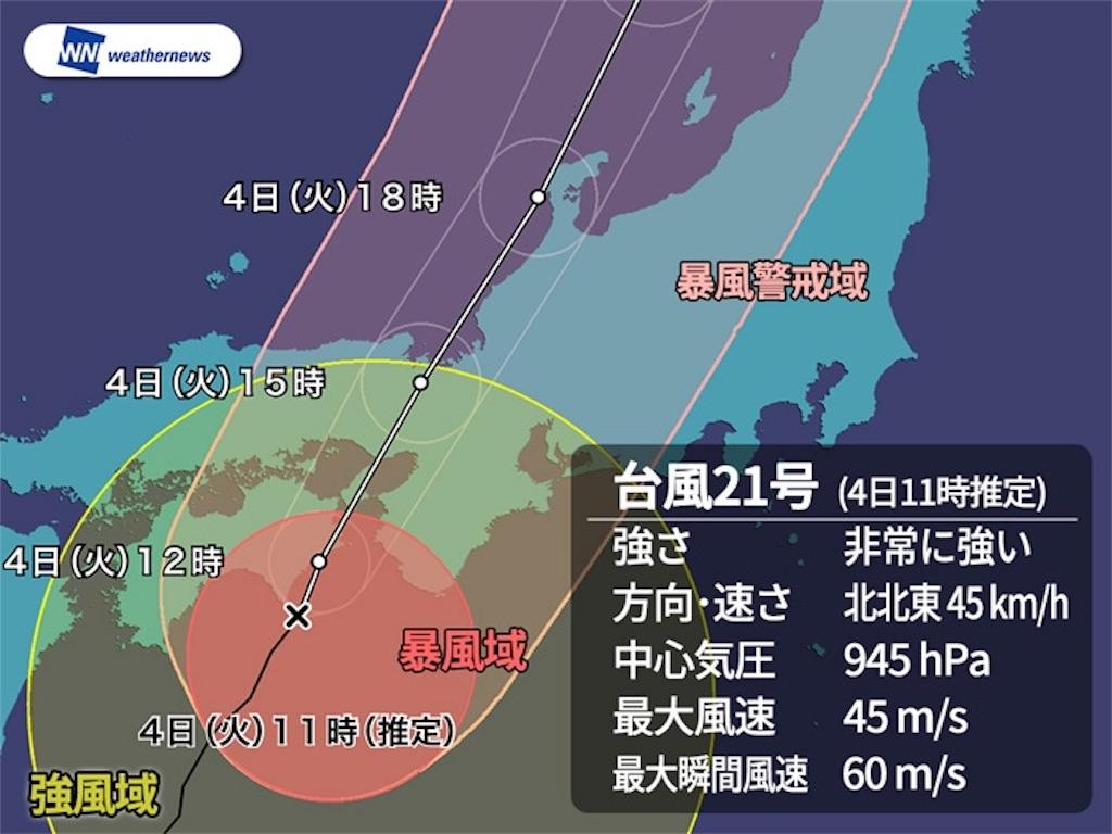 台風21号被害 対策