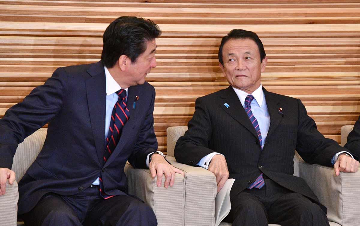 安部晋三 麻生太郎 消費税増税計画