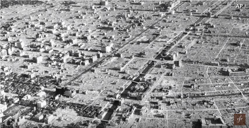 第二次世界大戦 東京大空襲 原爆 日月神示