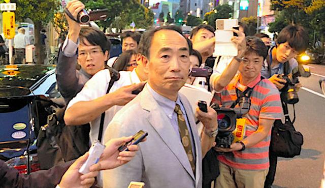9月19日安倍首相 街頭演説 籠池泰典