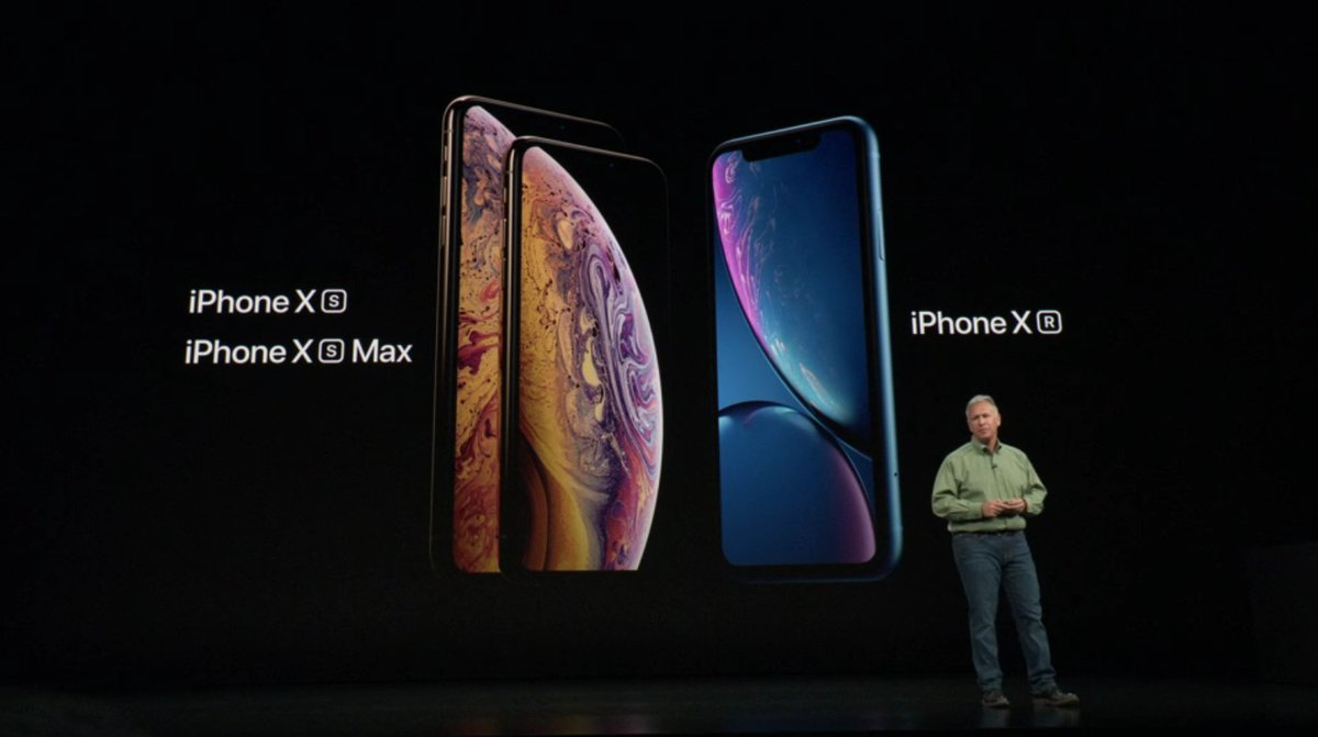 新機種発表iPhone XS/XS Max/XR