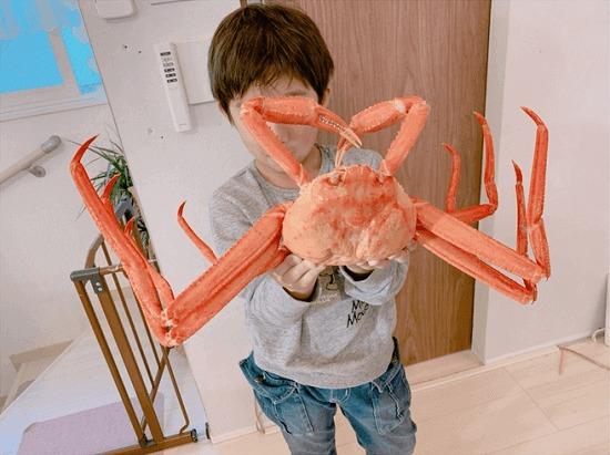【辻希美】『めっちゃ大きなズワイ?蟹が届いたょーっ。やば〜い!!やば〜い!!』➝炎上www