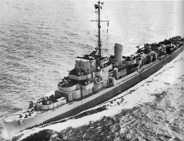 エルドリッジ 駆逐艦 実レーダーから消す