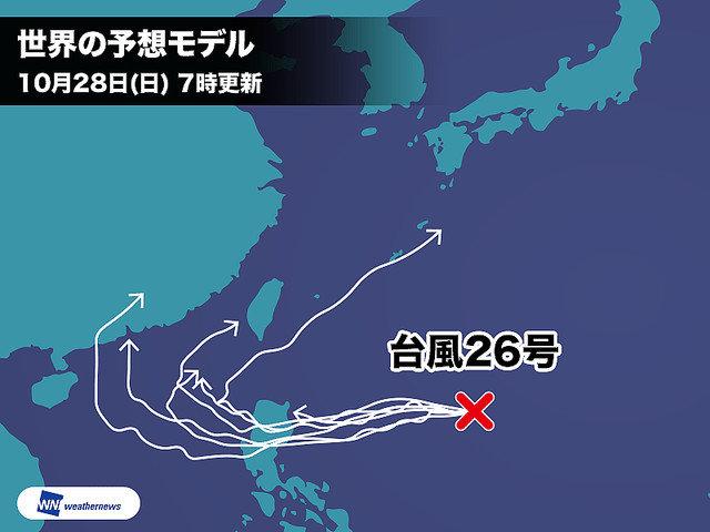 台風26号進路