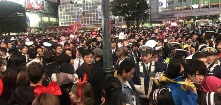 渋谷ハロウィン 逮捕者2018