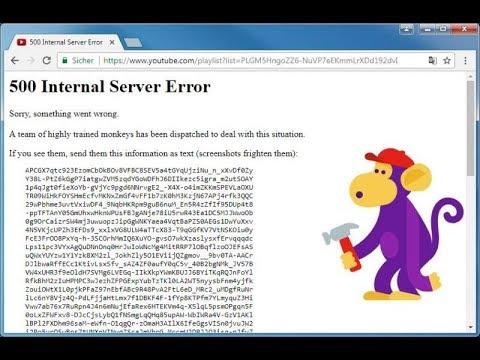【速報】YouTubeで接続障害「アクセスできない」報告相次ぐ