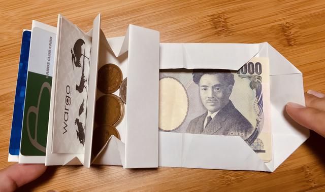 【これは凄い】紙一枚を折るだけで財布を作ってしまう動画が素敵と話題に!!!