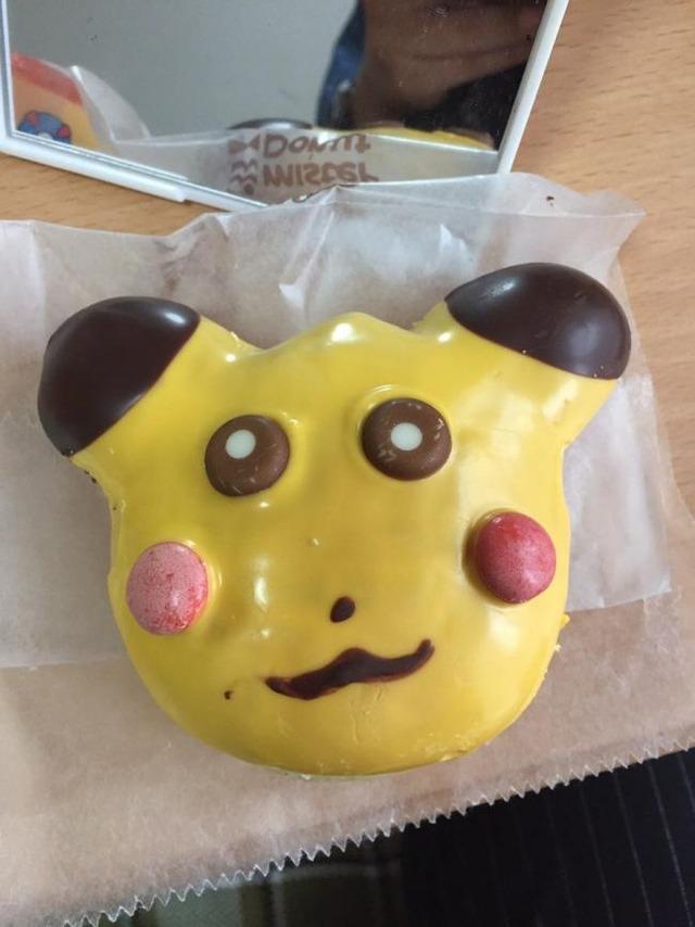 【納得】ミスタードーナツ販売の『ピカチュウドーナツ』があまりに崩壊し過ぎて販売停止