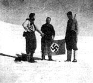 南極にナチスの基地が存在しているという説