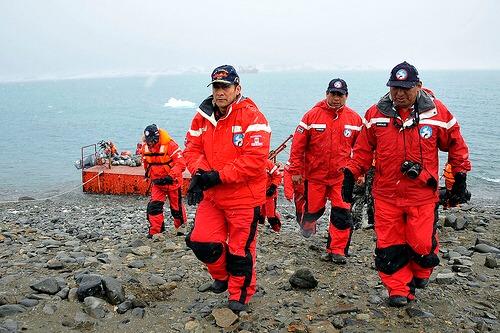 南極 調査チーム