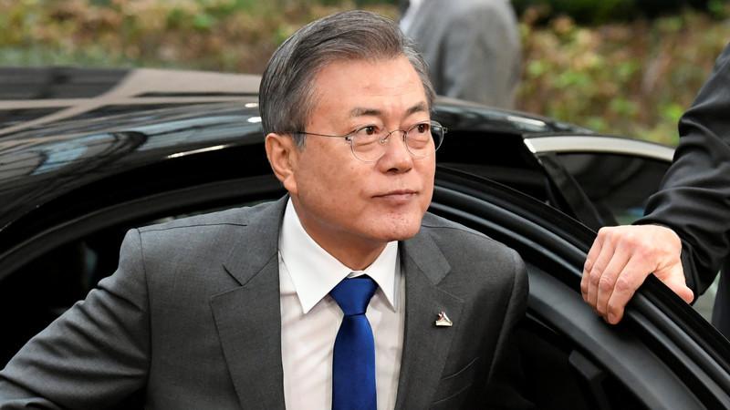韓国大統領府 国務総理室に任せてある。我々は関与しない