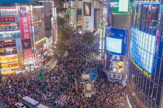 2018渋谷ハロウィン逮捕者7名
