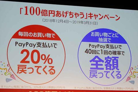 """【最高】『PayPay』の""""100億円あげちゃう""""当たった!?キャンペーンが開催!そもそも『PayPay』って知ってる?"""