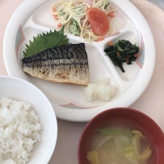 急性膵炎 病院食 塩鯖