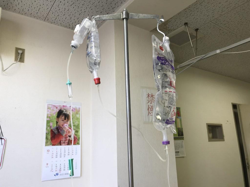 急性膵炎と診断後、有無がないまま即入院('ω')ノ