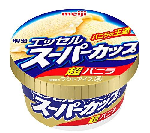 エッセルスーパーカップ 超バニラ(明治)