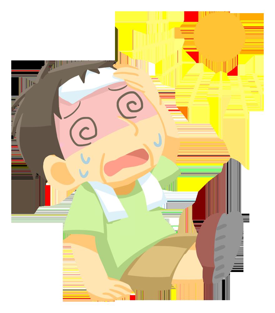 【注意喚起】この一週間に熱中症で搬送された人が多すぎる!今年の夏もヤバィから気を付けてくれよな!