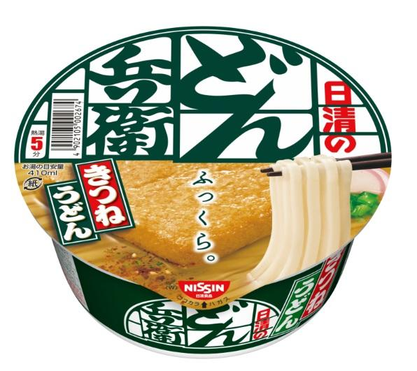 10位:日清のどん兵衛 きつねうどん[西](日清食品)