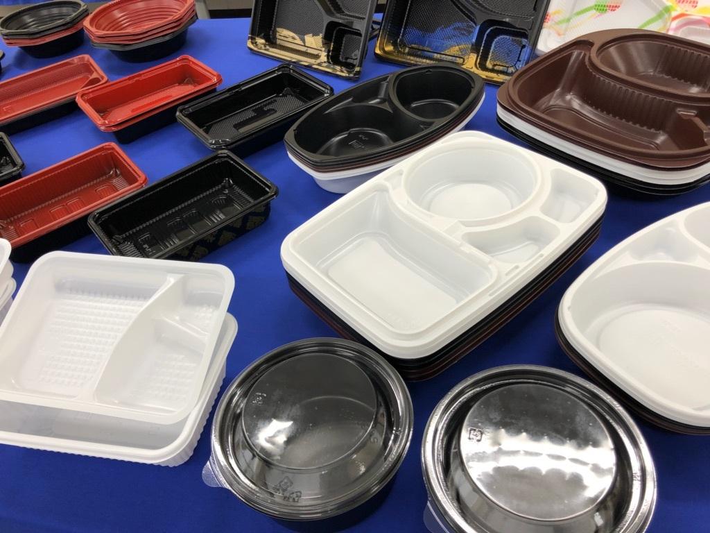 テイクアウト容器の種類-プラスチック製