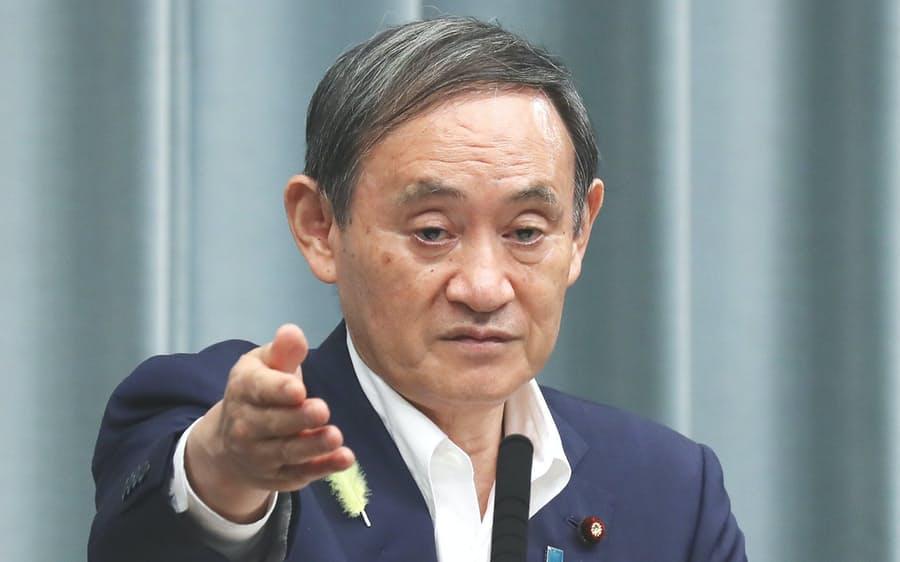 【菅官房長官】緊急事態宣言、最悪の場合は2回目の宣言あり得る